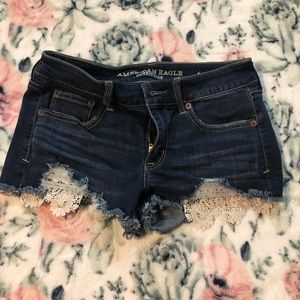 AE Superstretch Shortie Size: 4